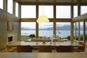 ventanas y ventanales de madera de roble y pino