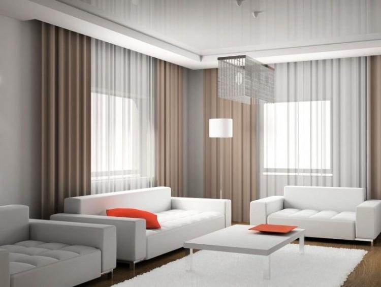 estores y cortinas translucidas para estancias como comedores y salas de estar